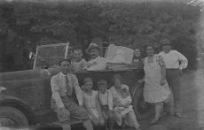 Meszlényi Sándor és családja