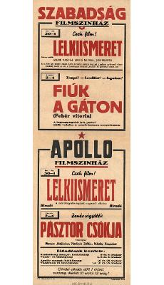 Szabadság és Apollo Filmszínház programjai 1949. december 30-1950. január 4-ig