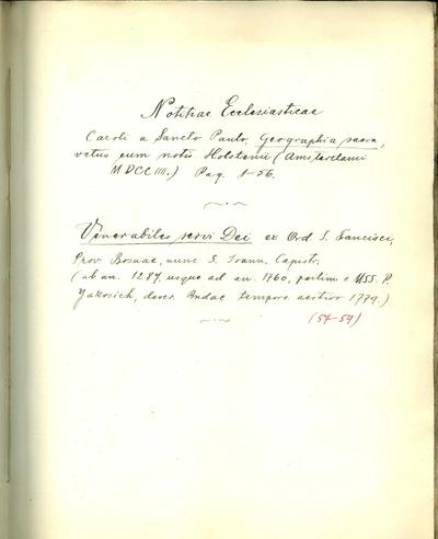 Manuscripta P. Petri Katancsich OFM X.