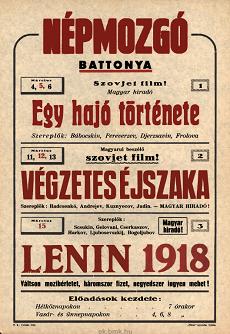 Népmozgó programjai 1949 március 4-15-ig