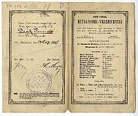 A Humboldt-páholy névjegyzéke Deák Ferenc részére, 1887