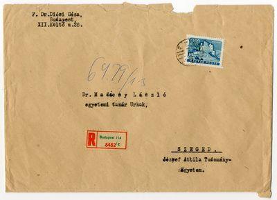 Juhász Gyula iratok