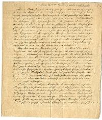 Kézirat a kolera elleni védekezésről, 1831