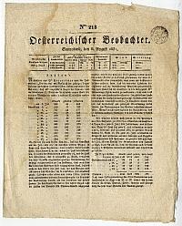 Oesterreichischer Beobachter 218. szám, 1831