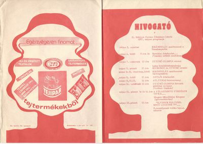 Hívogató : 1987. májusi programok a II. Rákóczi Ferenc Általános Iskolában