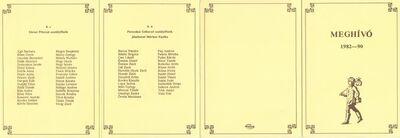 Meghívó a Lánchíd Utcai Általános Iskola 1990-ben végzett 8. évfolyamos tanulóinak ballagási ünnepségére