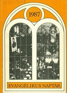 Evangélikus Naptár 1987