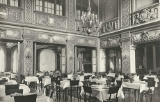 Palotaszálló étterem, Lillafüred 1966.