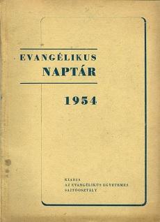 Evangélikus Naptár 1954