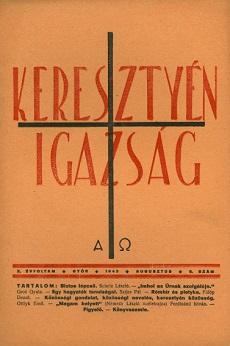 Keresztyén Igazság 1943 (agusztus)