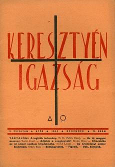 Keresztyén Igazság 1943 (december)