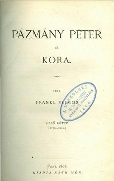 Pázmány Péter és kora