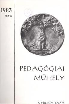Pedagógiai Műhely 1983 3