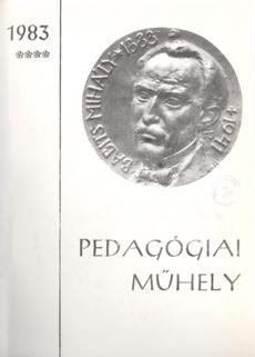 Pedagógiai Műhely 1983 4