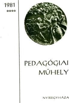 Pedagógiai Műhely  1981 4