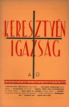 Keresztyén Igazság 1939 (október)