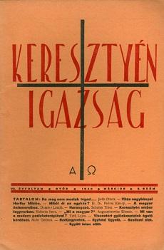Keresztyén Igazság 1940 (március)