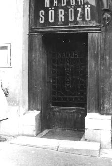 Nádor Söröző, Pécs 1980.