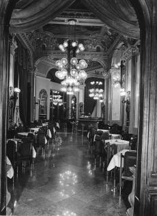 Hungária étterem, Budapest 1980.