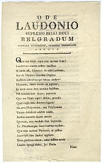 Köszöntővers, 1789