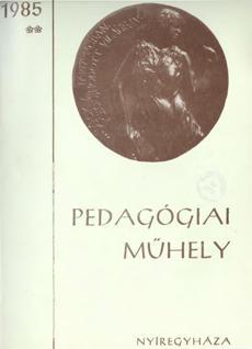 Pedagógiai Műhely  1985 2