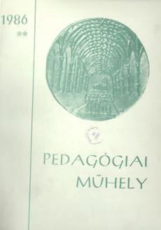 Pedagógiai Műhely  1986 2