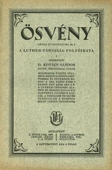 Ösvény 1928 (január-július)