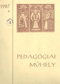 Pedagógiai Műhely  1987 1