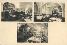 Százéves étterem, Budapest, 1938., képeslap