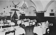 Százéves étterem, Budapest, 1948., képeslap