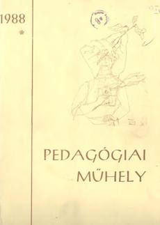 Pedagógiai Műhely  1988 1