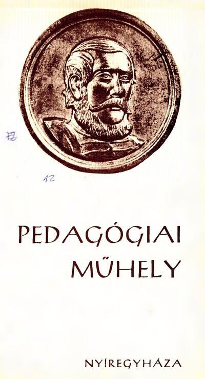Pedagógiai Műhely  1982 1