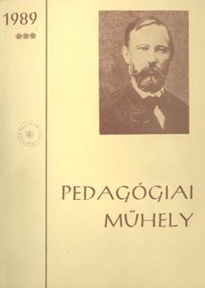 Pedagógiai Műhely  1989 3