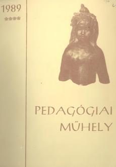 Pedagógiai Műhely  1989 4