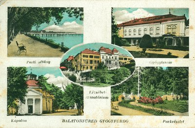 Balatonfüred, gyógyfürdő