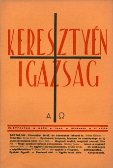 Keresztyén Igazság 1940 (december)