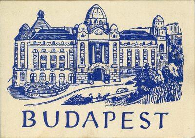Budapest, Gyógyfürdők - leporelló