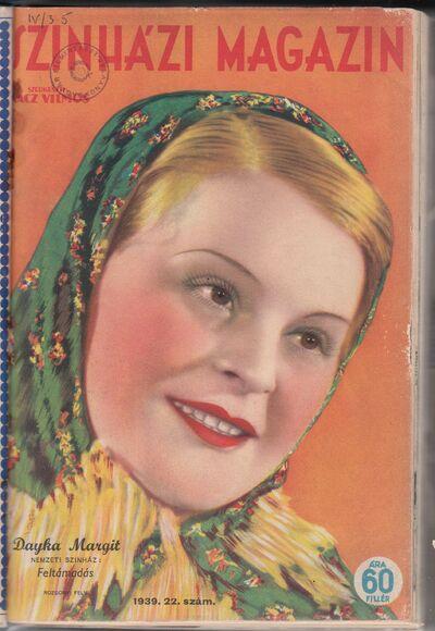 Színházi Magazin 1939 II. évfolyam 22. szám