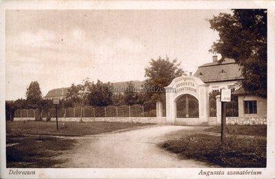 Debrecen. Auguszta szanatórium