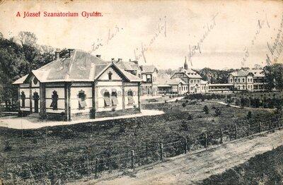 A József szanatórium Gyulán