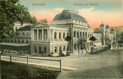 Marienbad. Kurhaus und Neubad
