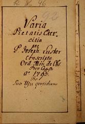 Varia Pietatis Exercitia