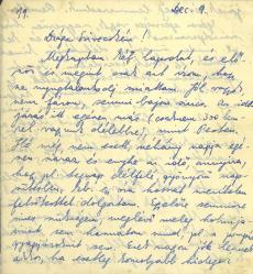 Munkaszolgálatos levél