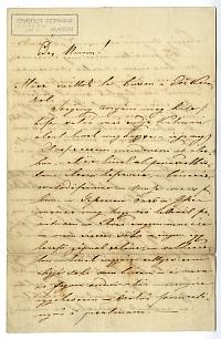 Latkóczy Lajos levele volt feleségéhez (Hivatal Anikó), é.n.