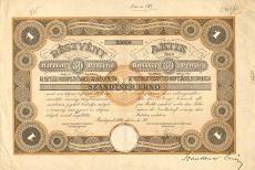 Az Egyesült Budapesti Fővárosi Takarékpénztár részvénye 30 pengőről