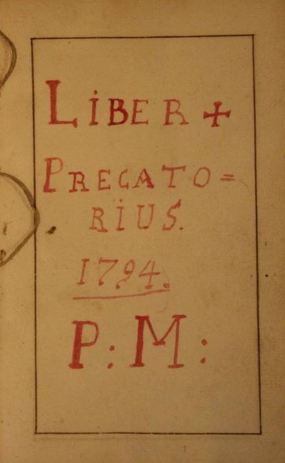 Liber Praecatorius