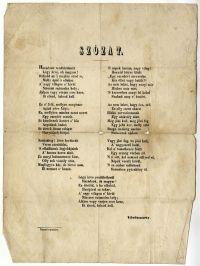 Vörösmarty: Szózat, é.n. [1836k.]