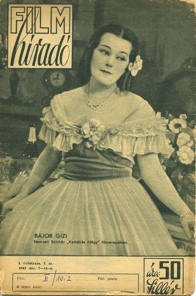 Filmhíradó 1943 I. évfolyam 2. szám