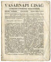 Vasárnapi Újság, 1842. április 24.
