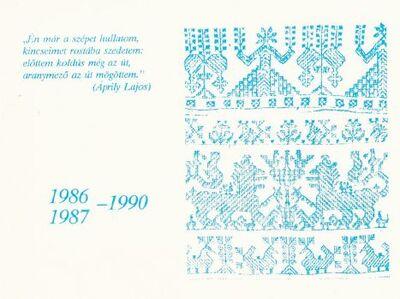 Meghívó ballagási ünnepélyre (1990)